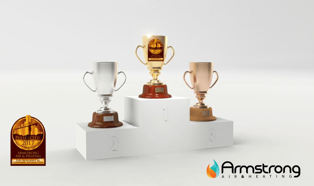 Armstrong Air And Heating Winning Award After Award- Award Winning HVAC
