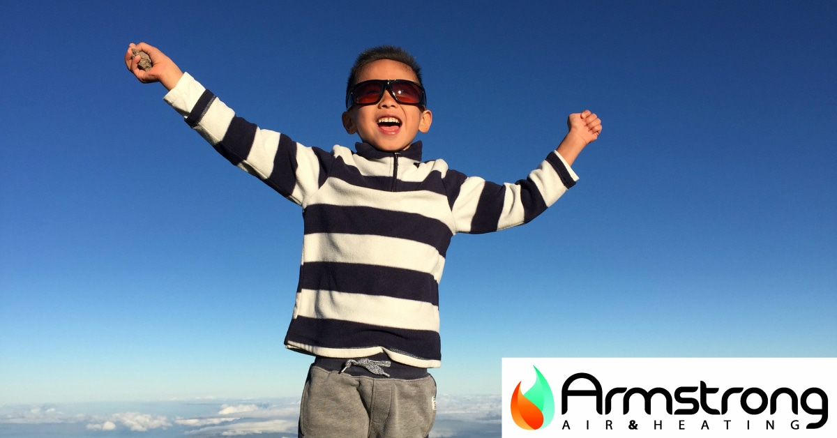 Armstrong Air Conditioning : We're On Top Of The World