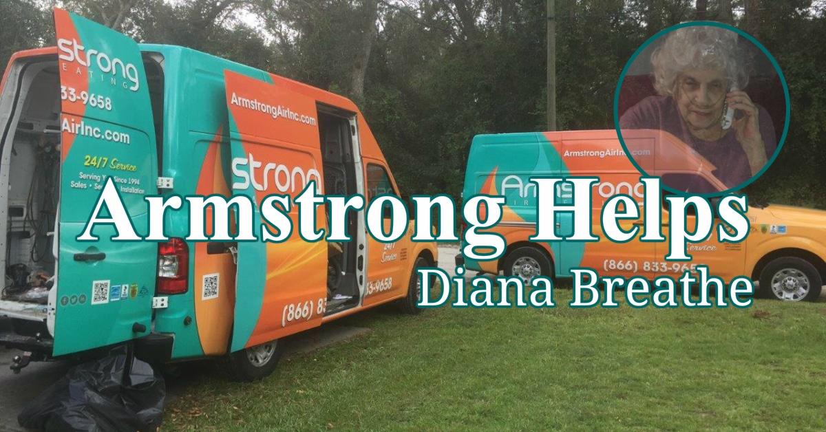 Dianne Is Breathing Clean Air Again – Arm Strong Air Inc